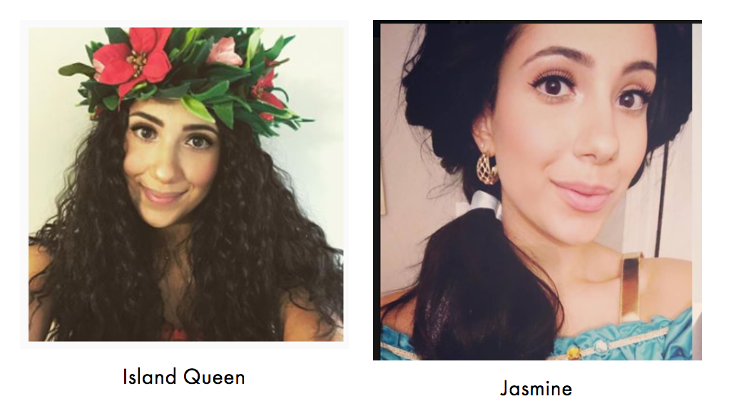 Princess Characters for Mississauga & Toronto