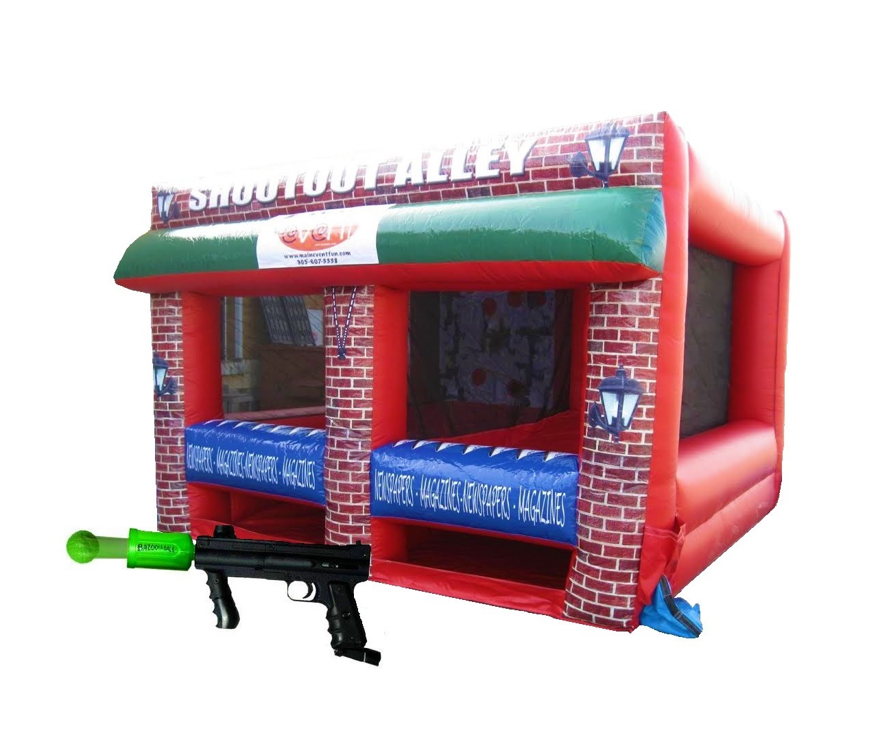 Shootout Alley Bazooka Ball