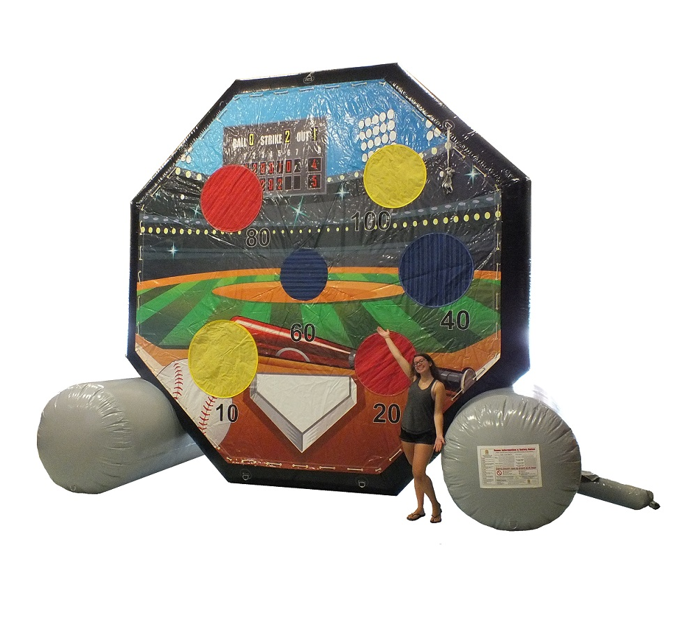 Soccer Baseball Velcro Darts Inflatable Rental