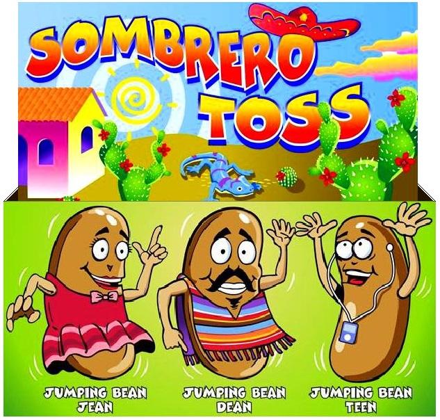 Freestanding Sombrero Toss Game