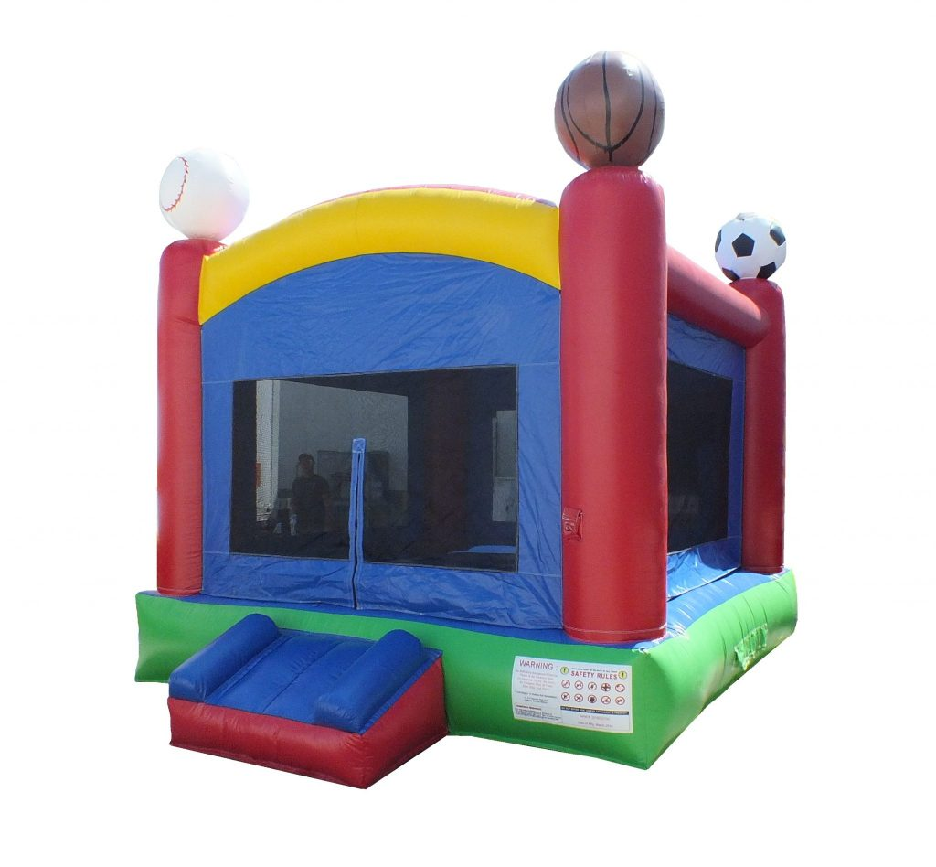 Sports Basics Inflatable Castle