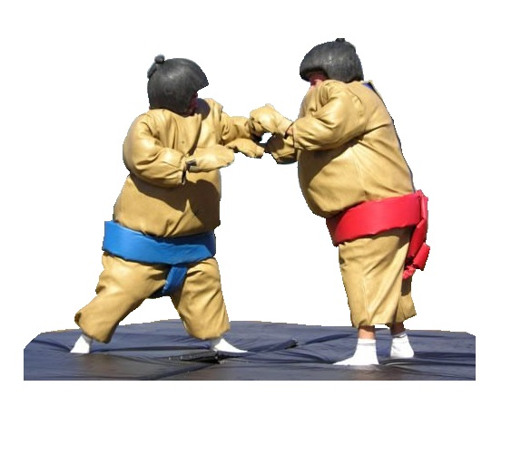 Sumo Suits - Two Suits + Includes Mat