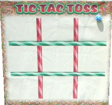 Freestanding Tic-Tac-Toss