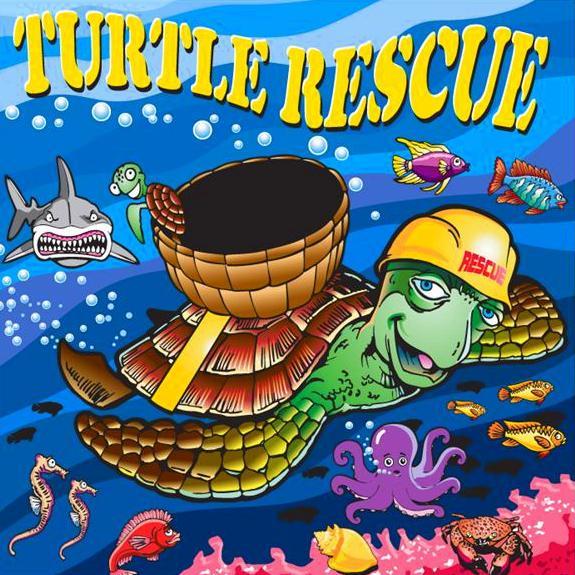 Freestanding Turtle Rescue