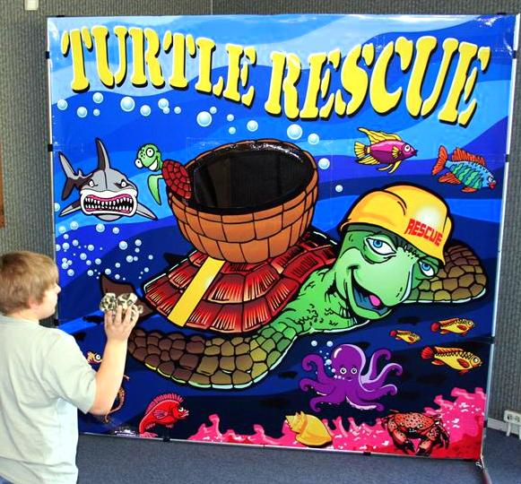 Freestanding Turtle Rescue