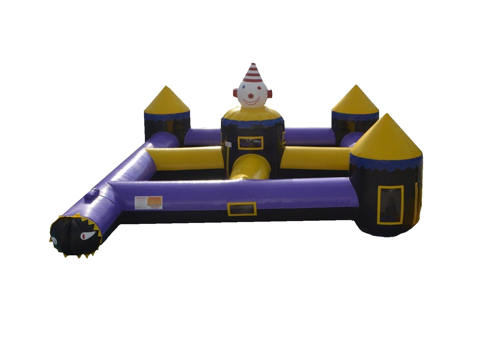 Maze Clown Tunnel Toddler Inflatable