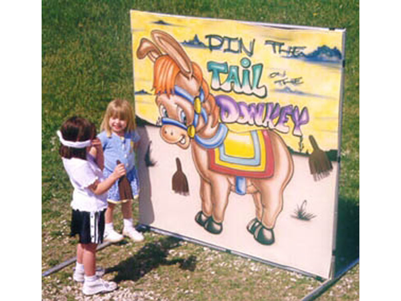 Pin the Tail on the Donkey Freestanding Game