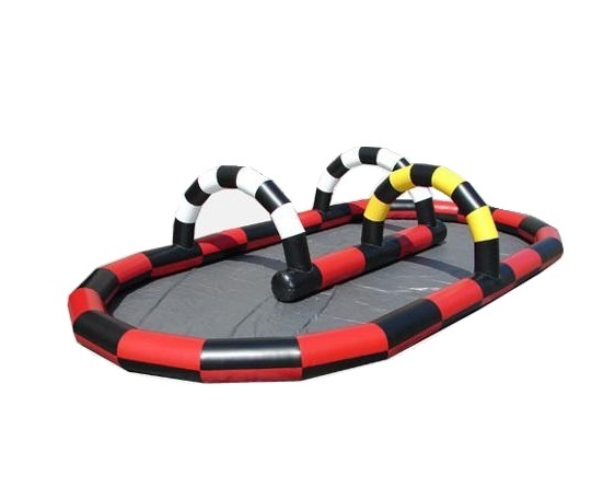 Race Track Inflatable Course
