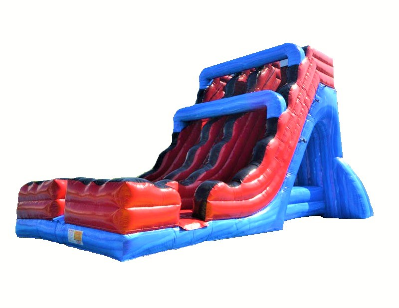 Velocity Double Lane Inflatable Slide