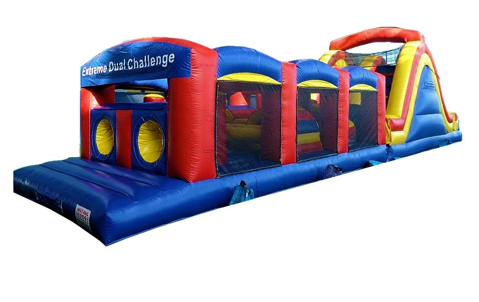Extreme Dual Challenge Obstacle Course Rental