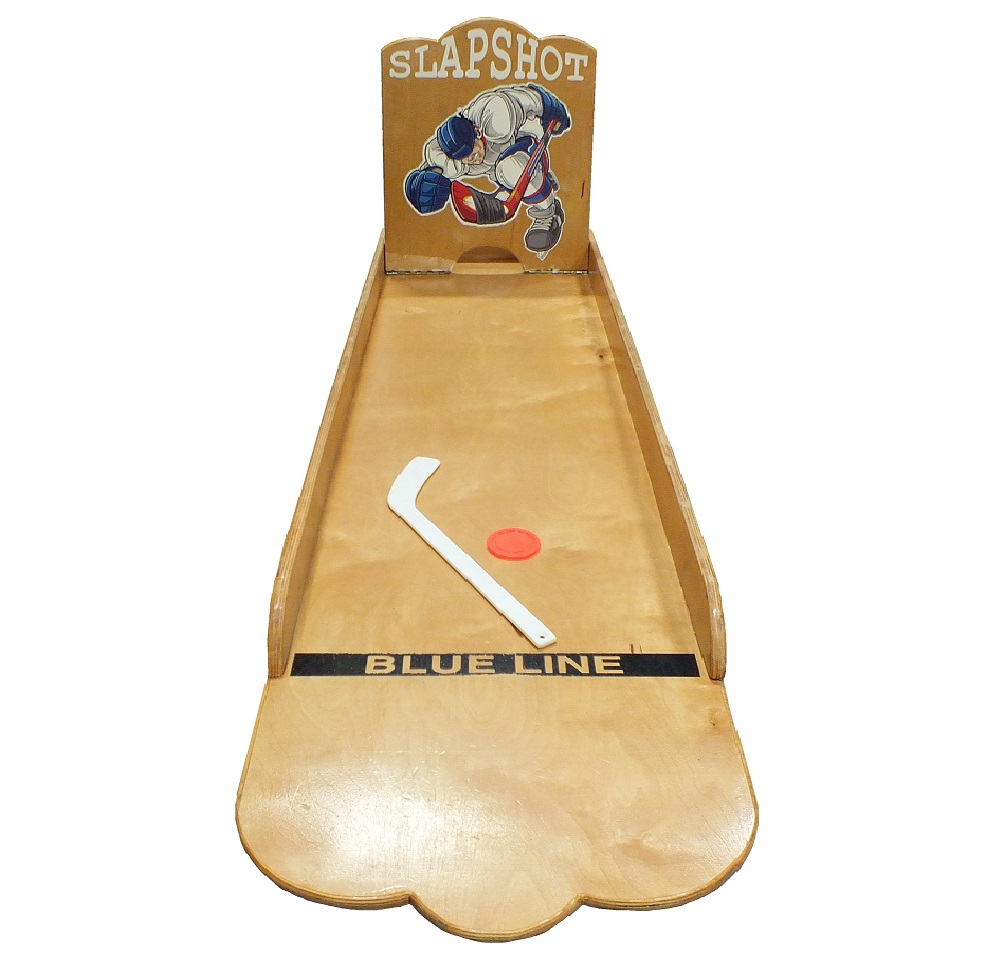 Wooden Hockey Slapshot Game